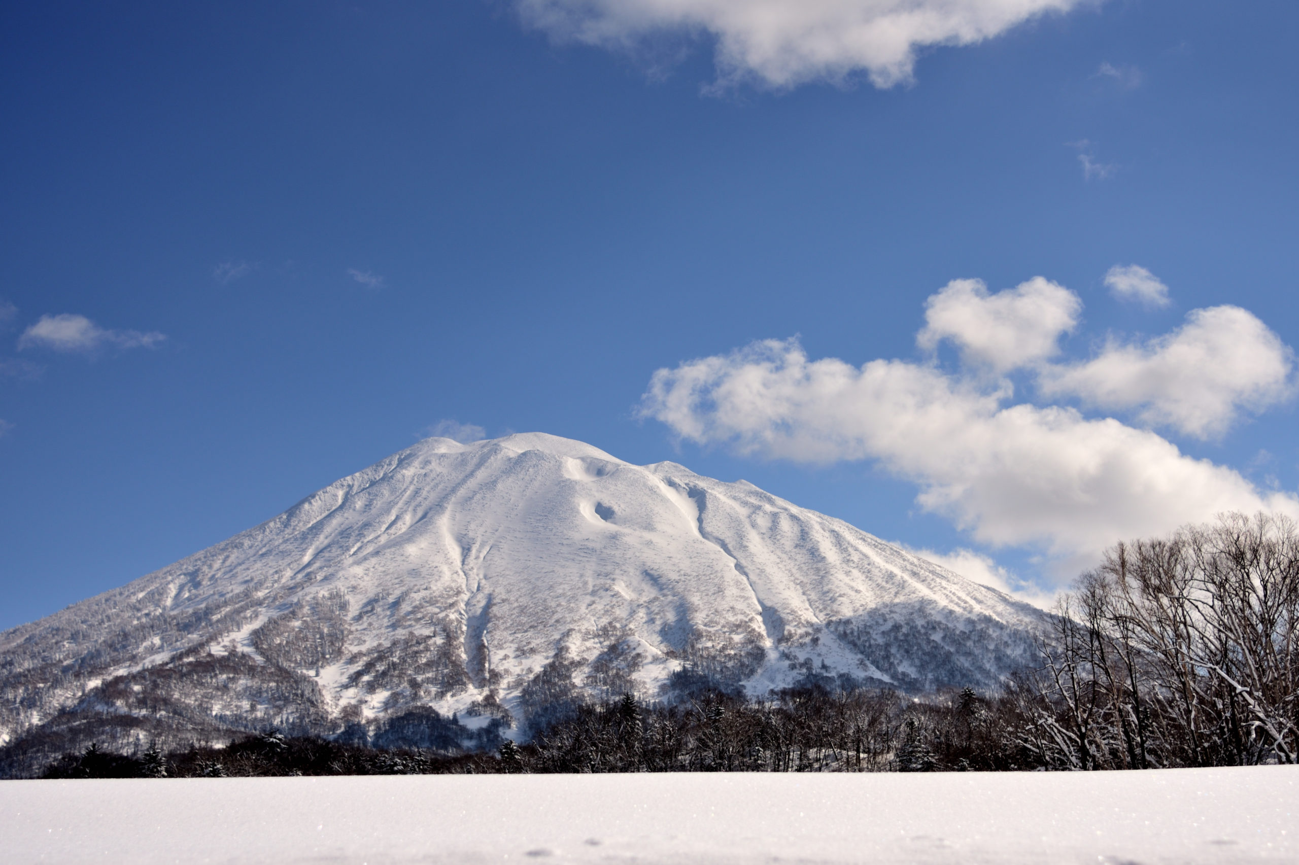 Mt.Youtei with snow